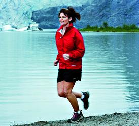 Sarah Palin runs from her responsibilities. Get it? Because, see, she's running and---you know what, nevermind.
