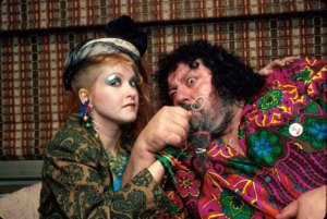 Albano with Lauper